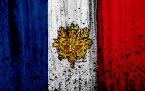 thumb2 french flag 4k grunge flag of france europe